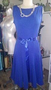 Haani Embossed Knit Sleeveless Dress
